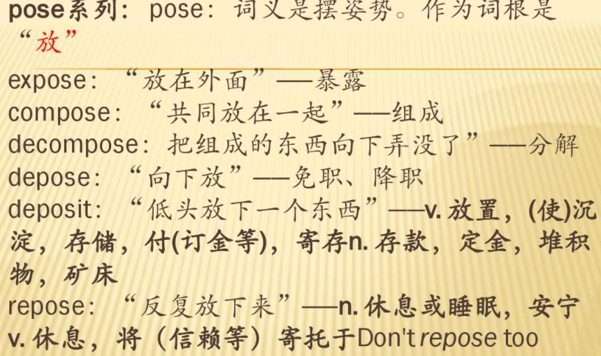 完整词根词缀大全(完美版)word分享建议人手一份!
