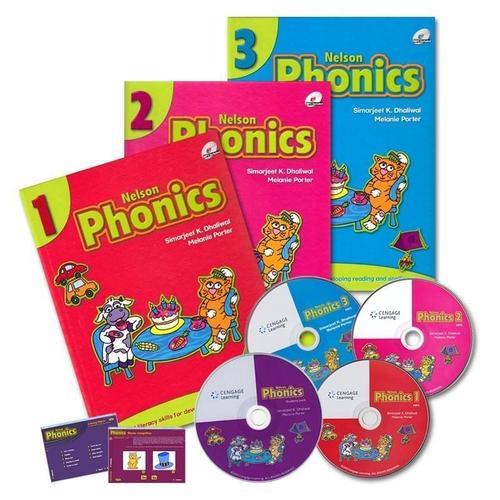 尼尔森自然拼读Nelson Phonics(3册)视频教程网盘下载!