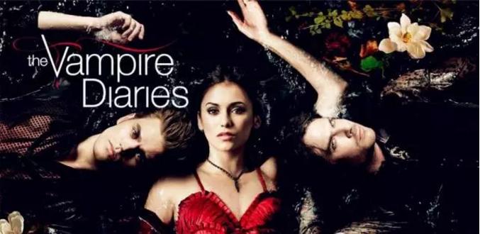 青少儿适合学英语的美剧《吸血鬼日记》1-8季全网盘自取。