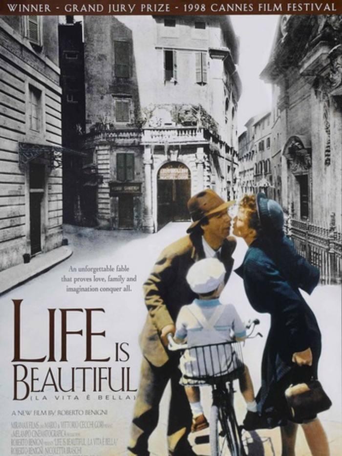 英语口语学习影片《美丽人生》中英双语字幕高清下载资料分享