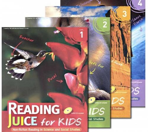 儿童英语杂志Reading Juice for Kids(4本)电子版下载地址