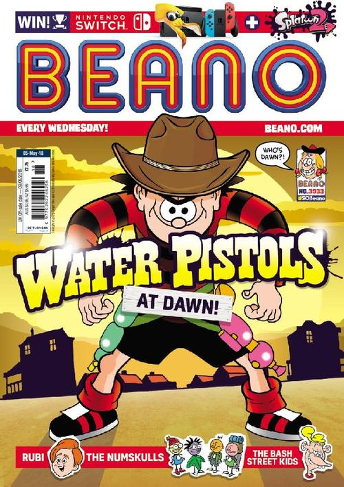 儿童英国漫画周刊《比诺 The Beano》2019年6月12日期值得收藏!