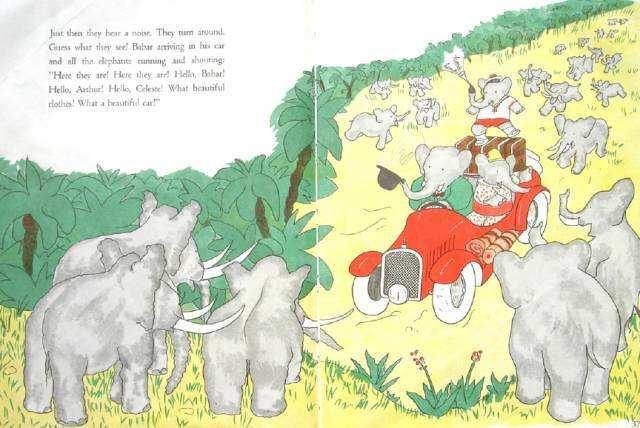 法国经典儿童绘本《大象巴巴的故事 The story of Babar》PDF你还没有吗?