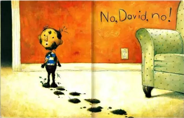 少儿原版英语绘本《大卫,不可以NO David》PDF资料大全