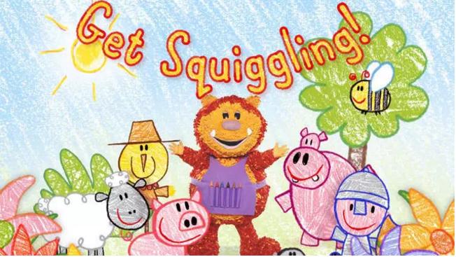 BBC英文卡通绘画《彩色乐园Get Squiggling》中英文版全集快来领取