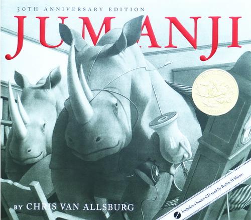 凯迪克金奖英文原版绘本—Jumanji PDF下载你还没有吗?