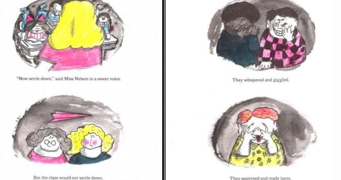 儿童初级英语绘本《尼尔森小姐不见了Miss Nelson is Missing 》分享(PDF+视频)