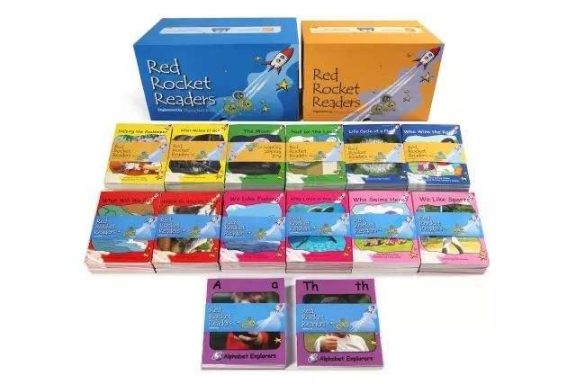 儿童启蒙英语-红火箭分级阅读系列 (小达人点读包)下载赶快<b style='color:red'>收藏</b>!