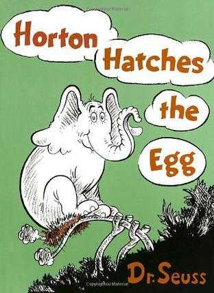 儿童英文绘本Horton Hatches the Egg 霍顿孵蛋(英汉对照)