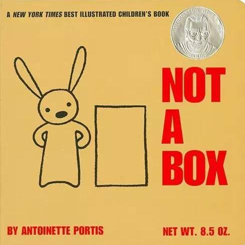 充满想像力的英文<b style='color:red'>绘本</b>《Not a box》PDF分享学习资源下载!