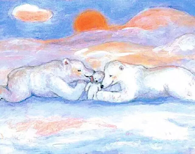 少儿环保绘本故事:《浮冰上的小熊》视频下载!