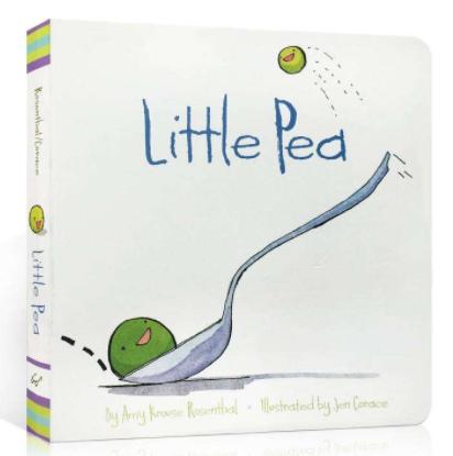 有趣的小豆子英文绘本《Little Pea》适合3~6岁孩子阅读