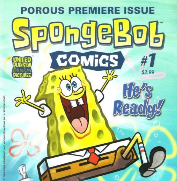 SpongeBob Comics 海绵宝宝40本漫画书PDF可打印资源大全