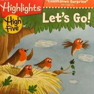 欧美著名儿童读物杂志Highlights High Five2019年9月期刊word下载!