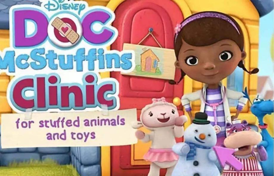 学龄前儿童动画《玩具小医生 Doc McStuffins》第2季高清视频(电子版+视频)