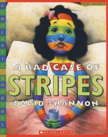 英语桥梁书《糟糕,身上长条纹了》A Bad Case Of Stripes免费下载