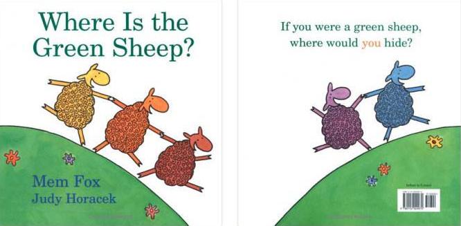 儿童英文原本绘本 Where Is the Green Sheep高清pdf下载