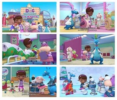 迪士动画片《玩具小医生Doc McStuffins》第四季全集下载网盘自取。