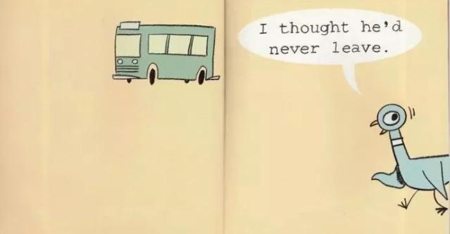原版英语绘本《Don't Let the Pigeon Drive the Bus》不要让鸽子开...