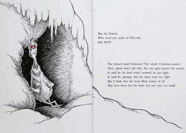 儿童英语绘本读物《格林奇偷走圣诞节》PDF分享