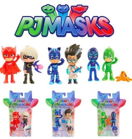 学龄前动画《蒙面睡衣侠 PJ Masks》1~2季下载