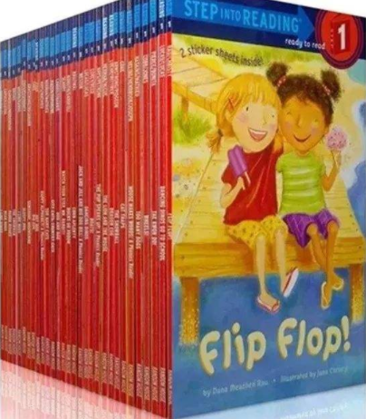 兰登儿童英语Step into Reading 第1阶 难词中英词汇表网盘自取。