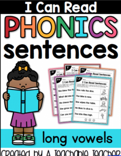 自然拼读 I can read phonics sentences 4册下载网盘资源下载。