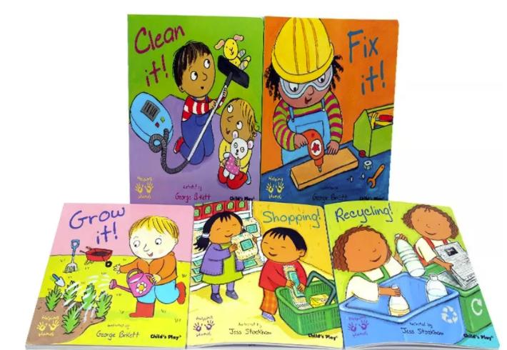 专为低龄孩子设计的经典绘本《Helping Hand》系列资料下载