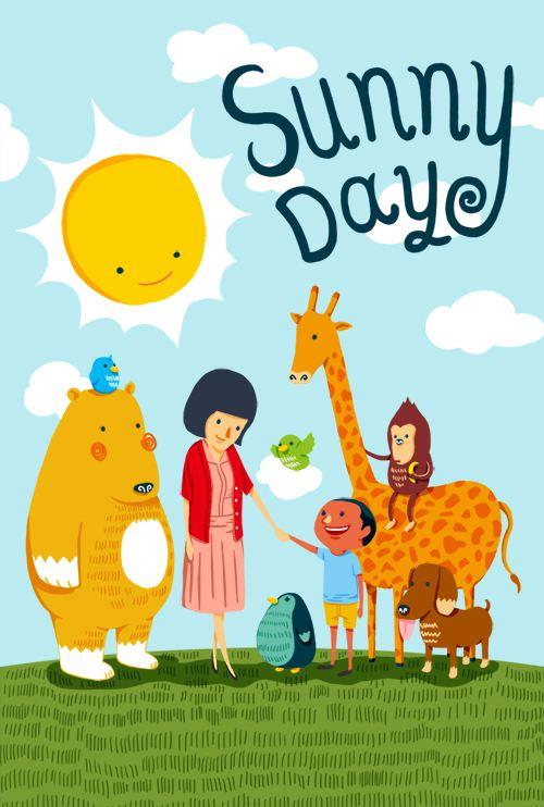 Nick频道2019最热英语动画《Sunny Day》电子课本
