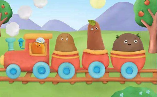 英语启蒙动画|爱唱的小土豆 Small Potatoes 全集 双语字幕值得收藏!