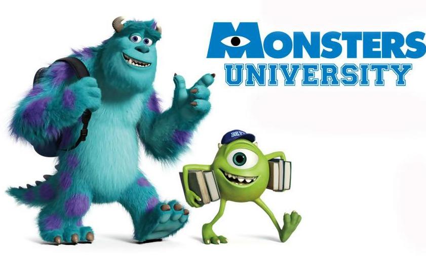 迪士尼电影《怪兽大学》中英双语电子版下载你还没有吗?