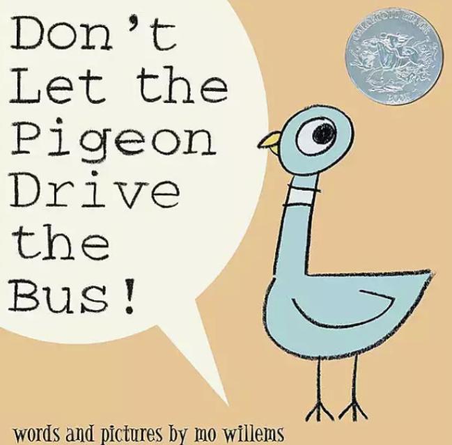 少儿英文绘本《别让鸽子开巴士 don't let the pigeon drive the bus》最新资源分享。