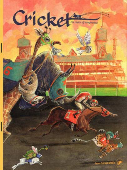 美国百年经典儿童杂志 Cricket Media 2019年4月期刊下载需要的赶快拿。