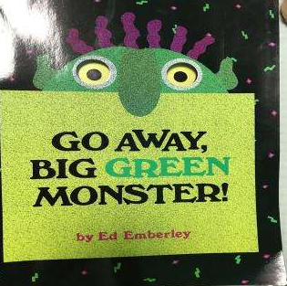 低幼英文绘本《走开,绿色的大怪兽!》PDF下载全套分享