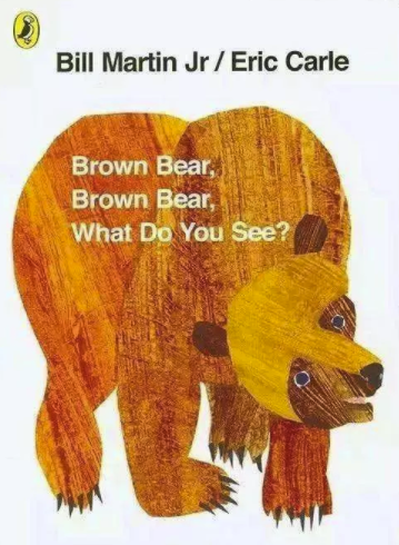 少儿英语经典绘本《Brown bear,Brown bear,What do you see》(PDF+音频)