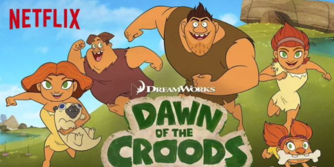 《疯狂原始人的黎明 Dawn of the Croods》全4季52集pdf百度云!
