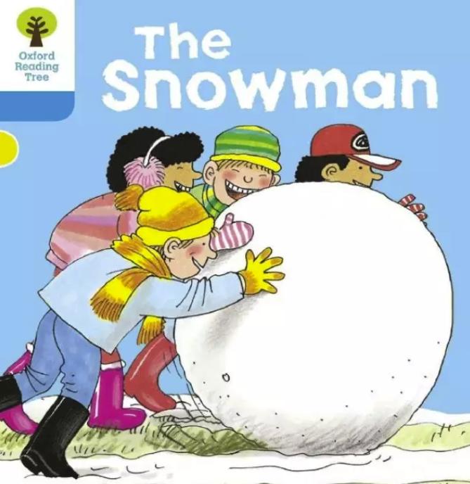 牛津阅读数系列《The Snowman》(雪人)值得<b style='color:red'>收藏</b>!