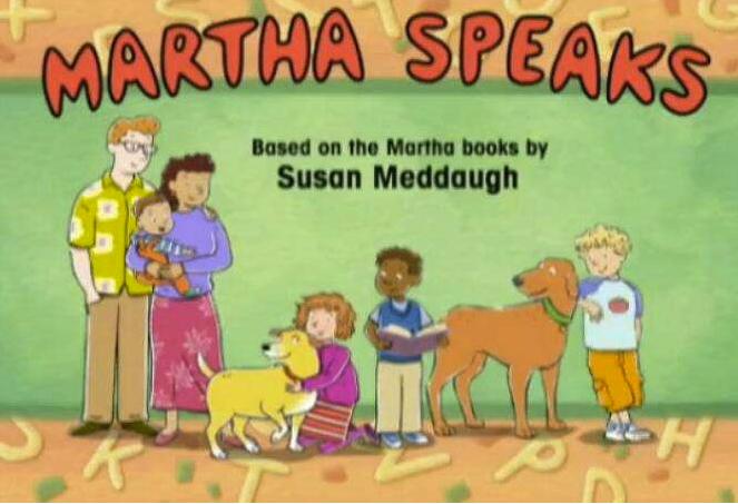 儿童英文<b style='color:red'>动画片</b>《玛莎说话啦 Martha Speaks》20集全百度云!