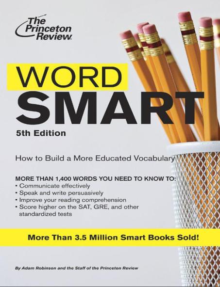 雅思英语词汇书《Word Smart》高清PDF下载下载地址