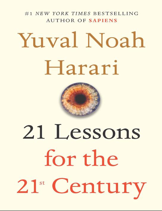 英文原版《21 Lessons for the 21st Century(今日简史)》PDF下载下载自取