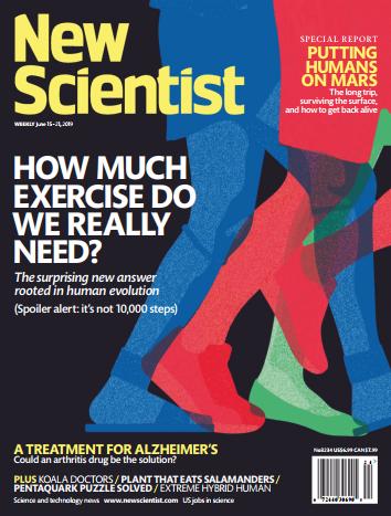 雅思阅读拓展资源杂志《新科学家》2019年6月刊下载免费资源