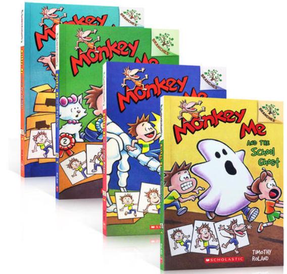 儿童英语分级读Scholastic Branches Monkey Me 学乐大树系列音频pdf百度云!