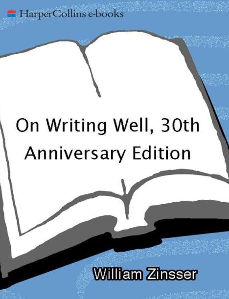 雅思课外读物推荐《On Writing Well》英文版下载免费分享。