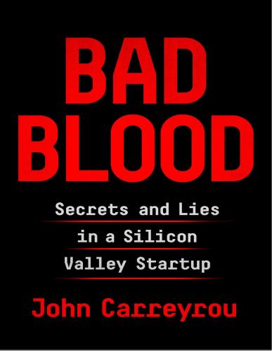英语课外读物推荐《滴血成金 Bad Blood》pdf+epub+mobi云盘下载免费领取!