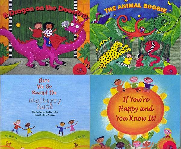 光脚丫童书社(Barefoot Books)语感<b style='color:red'>启蒙</b>经典英文儿歌图画书电子版分享!