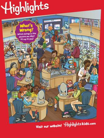 欧美著名的儿童杂志 Highlights for children 2019年9月PDF下载学习分享