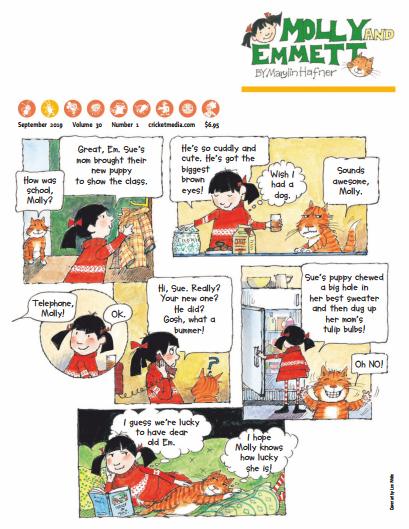 儿童故事杂志《小瓢虫(Ladybug)》2019年9-10刊下载百度网盘下载
