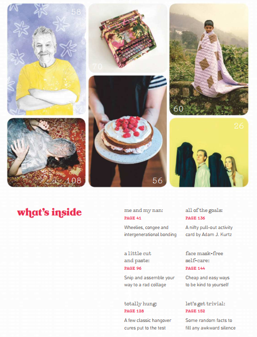 澳大利亚英文时尚杂志《Frankie》2019年1-3月刊<b style='color:red'>电子版</b>分享!