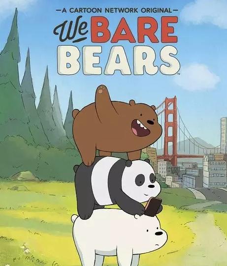 儿童英语启蒙动画《咱们裸熊第一季》双语版资源大全