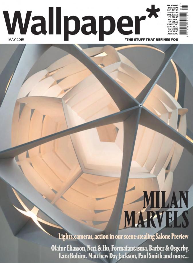 时尚英文杂志《Wallpaper》2019年3刊PDF下载视频分享!